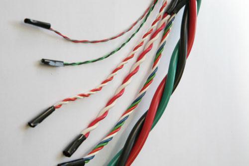 電線ツイスト加工